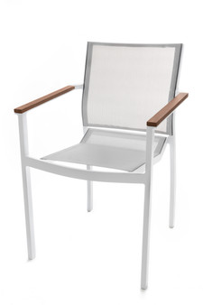 White Tabou Outdoor Chair