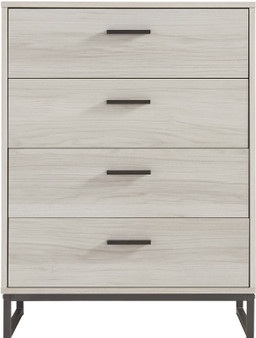 Socalle 4 Drawer Chest in Natural