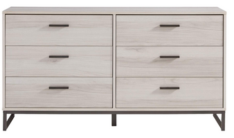 Socalle Dresser-6 Drawers in Natural