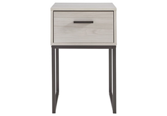 Socalle Nightstand-1 Drawer in Natural