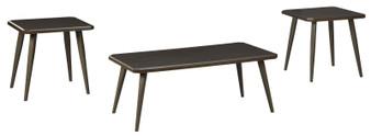 Fazani  3pc Occasional Table Set in Dark Brown