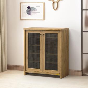 Shoes Cabinet in Golden Oak