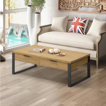 """47"""" Coffee Table in Golden Oak"""