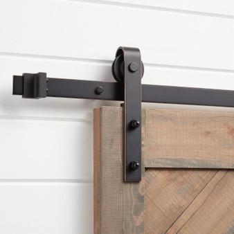 #FY01 Sliding Barn Door Hardware In Bronze