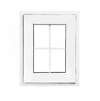"24""x 24"" UPVC Casement Window With Grids"