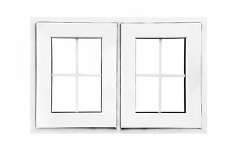 "36""x 24"" UPVC Casement Window With Grids"