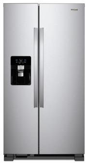 Whirlpool Side by Side Refrigerator in Stainless Steel