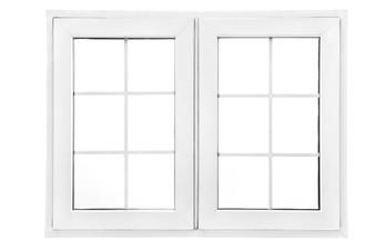 "48""x 36"" UPVC Casement Window with Grids"