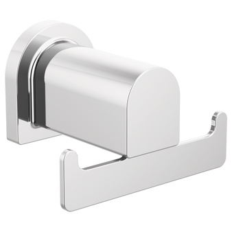 Xander Double Robe Hook in Chrome