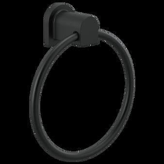 Xander Towel Ring in Black