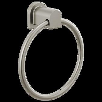 Xander Towel Ring in Brushed Nickel