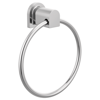 Xander Towel Ring in Chrome
