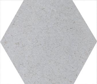 """Pris Dakar White 8""""x 9"""" Porcelain Hex Tile"""