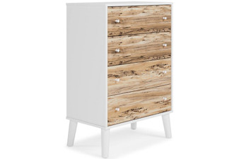 Piperton 4 Drawer Chest in Two Toned