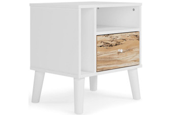 Piperton Nightstand in Two Toned
