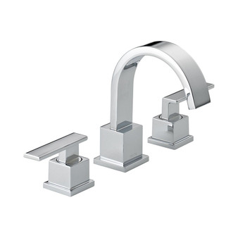 Vero Two Handle Widespread Lavatory Faucet in Chrome