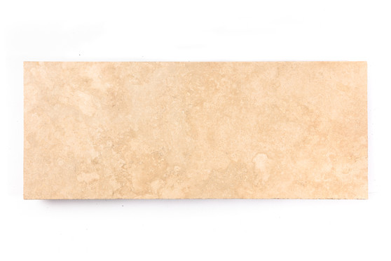 Denzili Polished Travertine Slab (Per Square Foot)