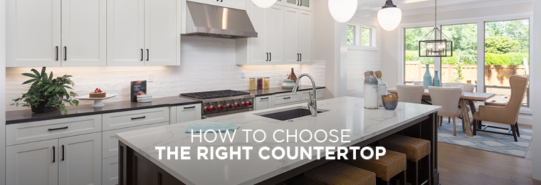 From quartz to marble, granite to tiles, your space will hum with a certain style, rhythm and tone with the right countertop.