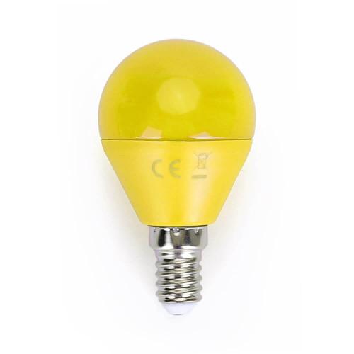 Lampadina Led colorata 4W E14 gialla