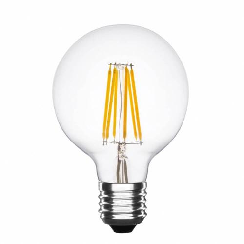Lampadina led G95 a filamento 6W dimmerabile
