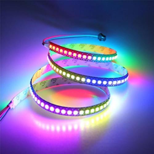 Striscia led 72 W RGB Digitale 5 Volts 1:1 effetti luminosi