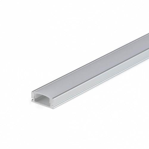 Profilo led alluminio da superficie CC32 - opalino