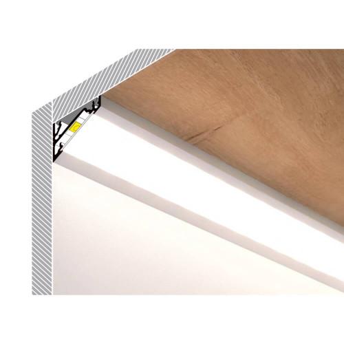 Profilo led corner alluminio - esempio