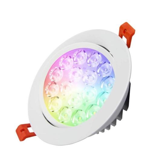 Faretto da Incasso led RGB+CCT 9W
