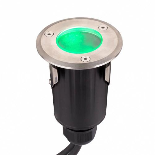 Faretto calpestabile inox IP68 da 9W 12V RGB