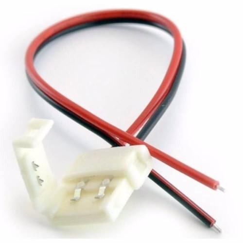 Connettore strisce led con filo alimentazione