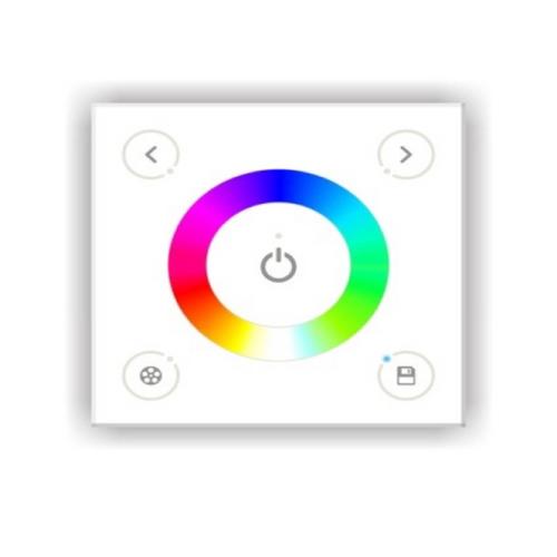 Controller touch RGB+W da parete