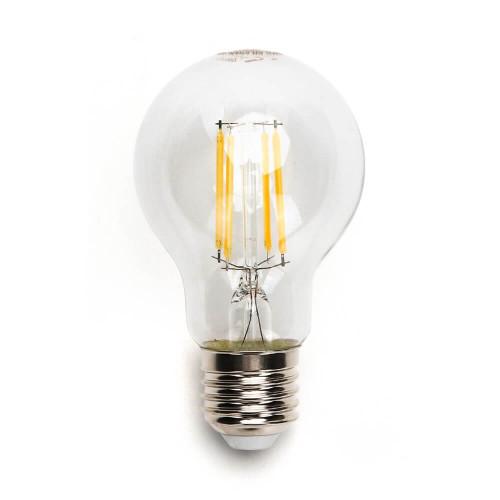 Lampadina led da 6W a filamento con attacco a vite E27