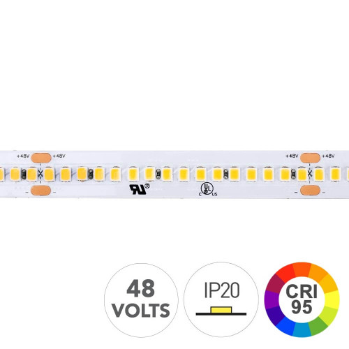 Striscia led 130W CRI 95 48V
