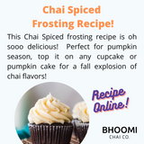 Perfect Chai Spiced Frosting, Light & Fluffy!