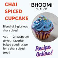 Chai Spiced Cupcake