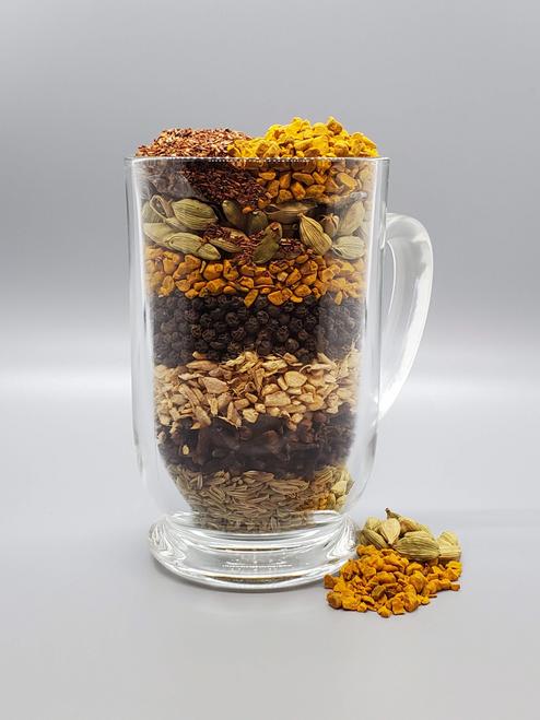 6 Spice Turmeric Chai, Caffeine Free