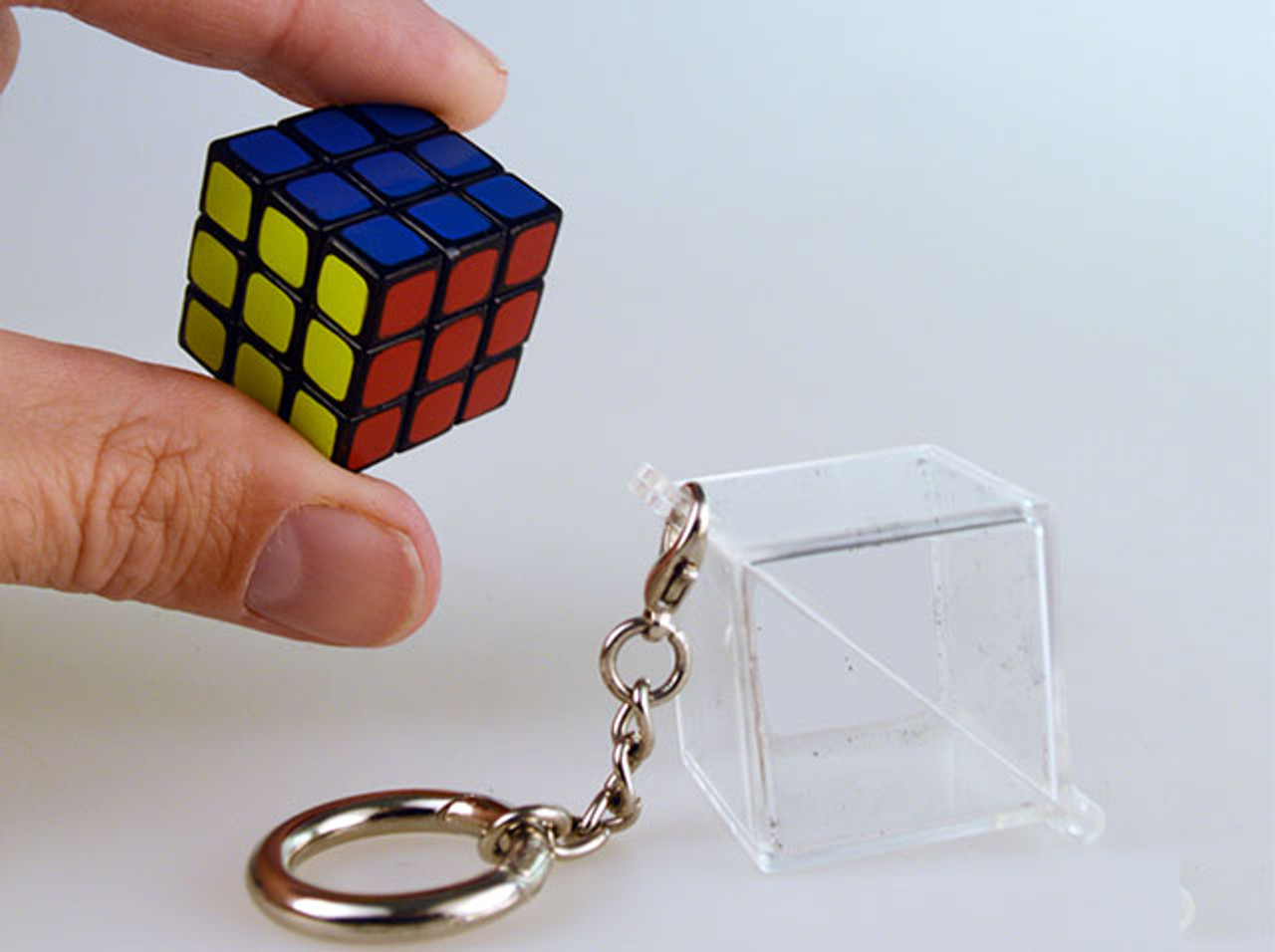 World s Smallest Rubik s Cube Keychain - Little Obsessed 6a450e75c01c