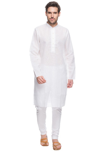 Details about  /Indian Ethnic Wear Men/'s Kurta Solid Pattern Cotton Kurta Pajama Set  SE 28-5