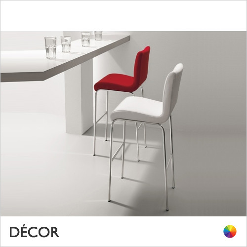 A1 Astone Bar Stool in Designer Fabrics & Eco Leathers, Bar & Counter Height - Made for You - Décor for Home & Business