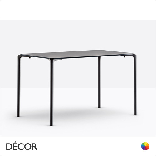 A1 Jump Stackable Rectangular Table with a Powder-Coated Frame and a Compact Laminate Top - 1200 x 800 - In Designer Neutral Tones - Décor for Business