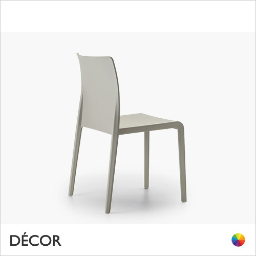 A3 Volt High Back Stackable Dining Chair, Polypropylene - In Designer Colours & Neutral Tones - Décor for Business