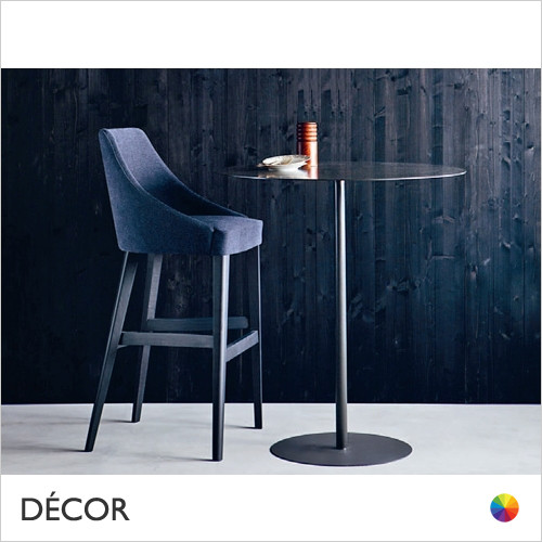 Edgar Bar Stool in Designer Fabrics & Eco Leathers - Made for You - Décor for Business