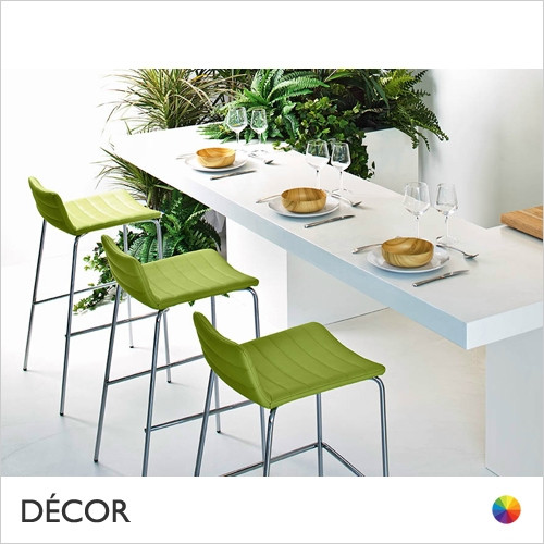 11A1 Cover Bar Stool in Designer Fabrics & Eco Leathers, Bar & Counter Height - Made for You - Décor for Home & Business
