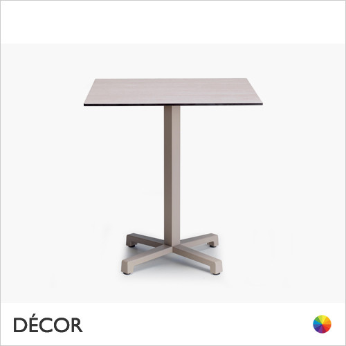 11A2 Cross Dining Table Base - With Round & Square Compact Laminate Tops in a Range of Sizes & Finishes - Décor for Business