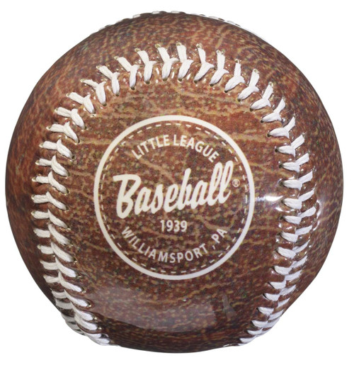Vintage Leather Baseball View Product Image