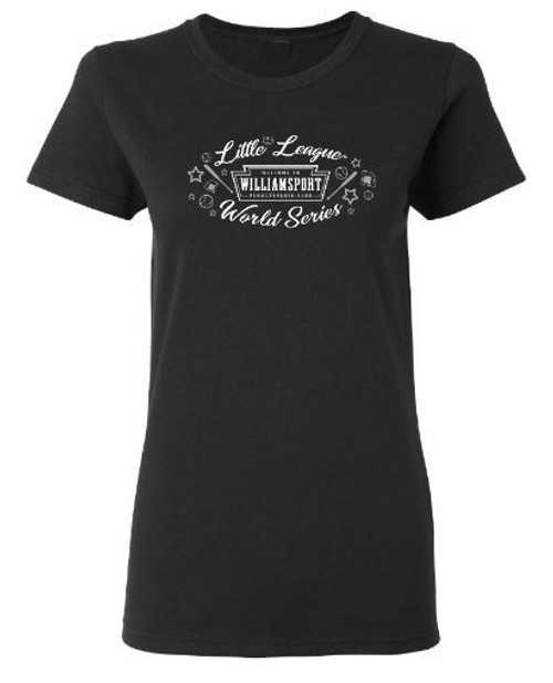 Welcome To WMSPT BLK Tee View Product Image