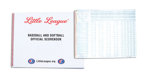"NEW!! SCOREBOOK 11"" X 14"" PITCH View Product Image"