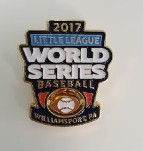 2017 World Series Spinner Pin View Product Image