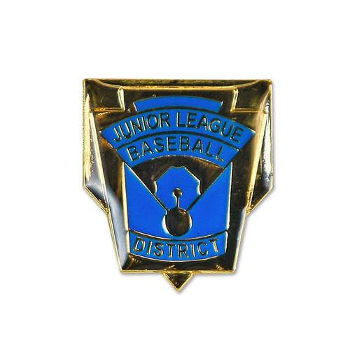Junior Baseball District Pin View Product Image