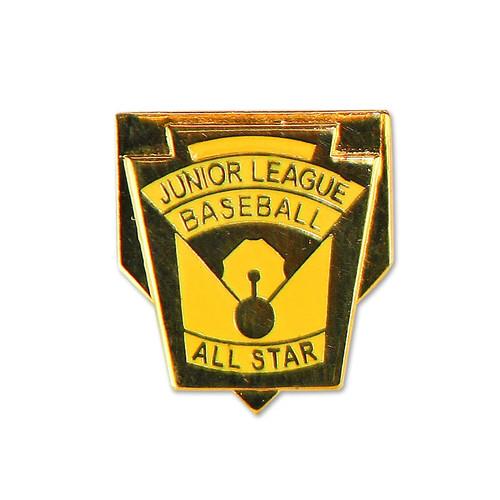 Junior Baseball All Star Pin View Product Image